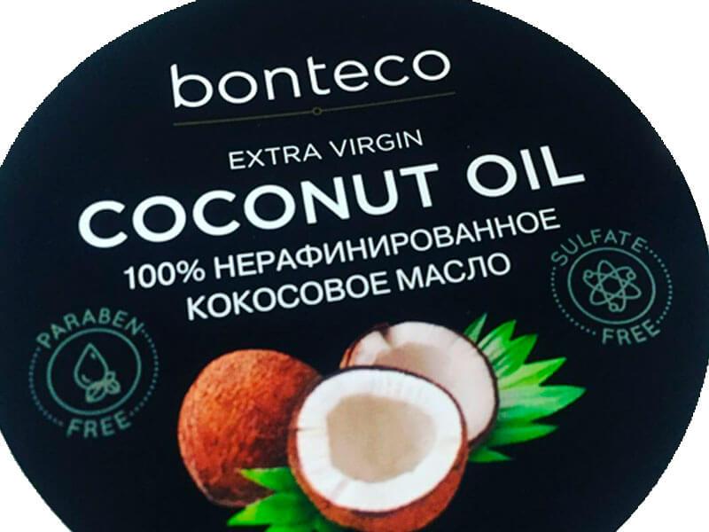 Этикетка для кокосового масла