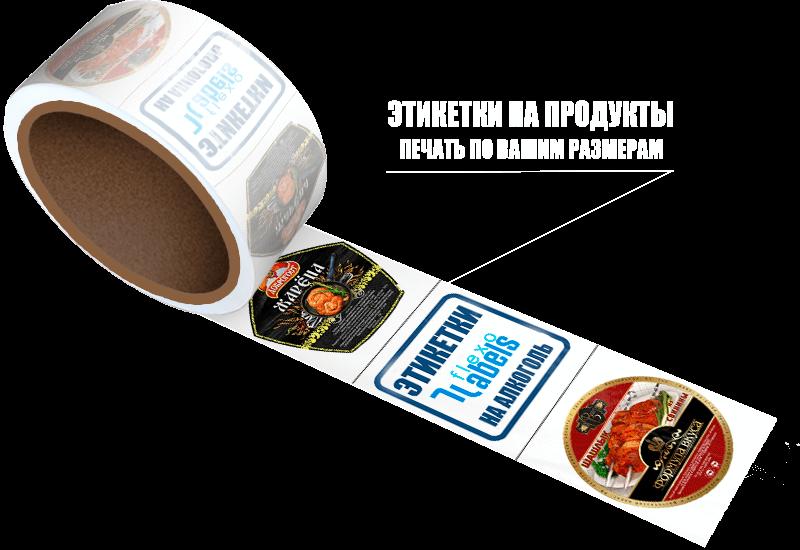 Этикетки на продукты питания