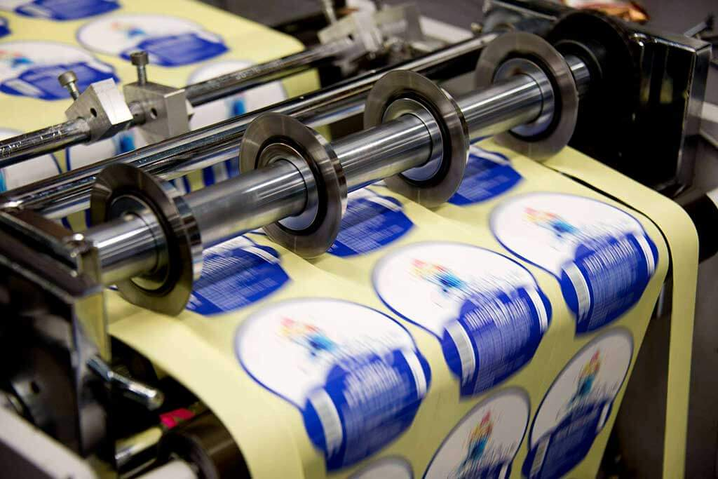Промышленная печать тиражей этикеток